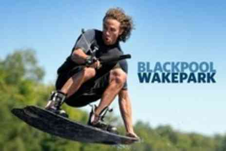 Blackpool Wakepark - Two Hour Introductory Wakeboarding Lesson For Four - Save 63%