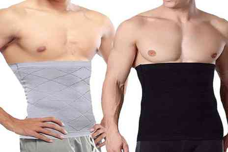 Boni Caro - Mens compression waist trainer Choose from two colours - Save 83%