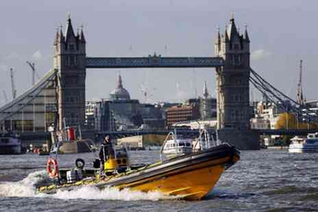 Thames Rib Experience - River Thames High Speed Cruise - Save 0%