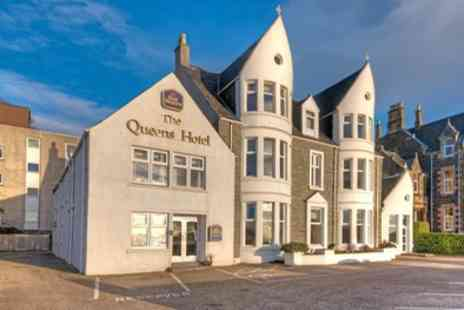 Best Western Muthu Queens Oban Hotel - One to Three Nights for Two with Breakfast and Option for Dinner and Prosecco - Save 55%