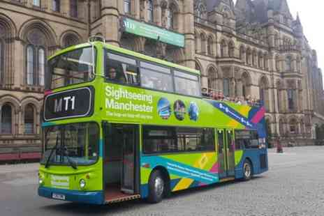 Manchester Bus tours  - Manchester Hop On Hop Off Bus Sightseeing Tour - Save 0%