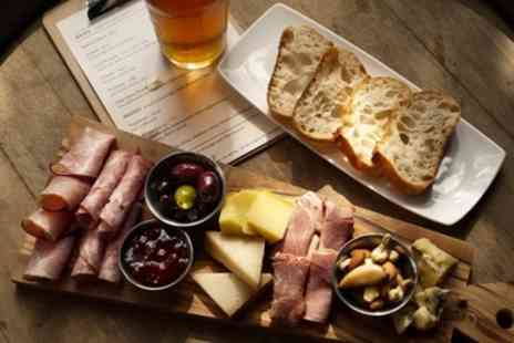 Brew Cafe & Taphouse - Three or Six Beer Paddles for Two or Four and Sharing Board - Save 0%