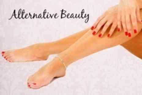 Alternative Beauty - Shellac Manicure and Pedicure - Save 63%