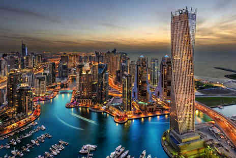 THG Holidays - Eight night Dubai stay with breakfast and ultra all inclusive Ras Al Khaimah stay with private, escorted transfers and return flights - Save 21%
