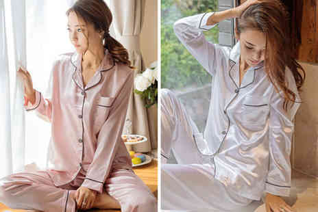 Buy Something - Womens pyjama sleepwear set - Save 65%