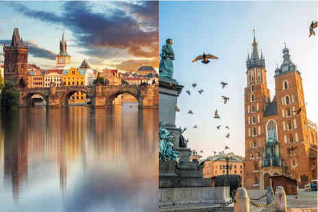 Weekender Breaks - Four or six night Prague and Krakow trip with flights and train transfers - Save 36%
