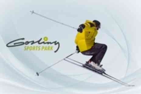 Gosling Sports Park - Skiing and All Day Spa Access Including Salt Room For Two - Save 65%