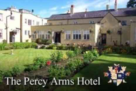 The Percy Arms Hotel - Two Night Stay For Two With Breakfast and Wine  - Save 70%