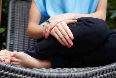 Kirren Hair Mua Beauty - Shellac Manicure, Pedicure or Both - Save 40%