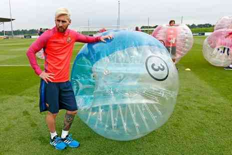 Xtreme Soccer - An hour long zorb football session for up to 15 players choose from over 50 locations - Save 50%