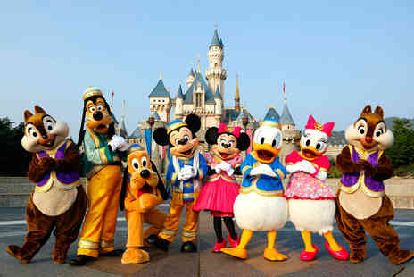 Weekender Breaks - Two or three night Disneyland Paris break with Disneyland One Day One Park entry and return flights - Save 34%