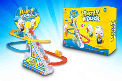 Buy Something - An electric duck train toy - Save 70%