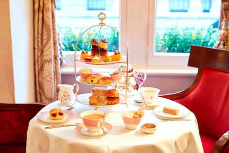 Guoman Hotels - Afternoon tea for two with a bottle of bubbly to share - Save 58%