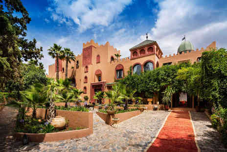 Virgin Experience Days - Two Night Stay for Two at Sir Richard Bransons Luxury Atlas Mountains Retreat, Kasbah Tamadot - Save 13%