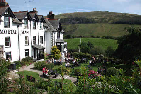 The Mortal Man - One or two night Lake District stay for two people with continental breakfast - Save 27%