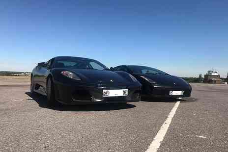 Supercar Test Drives - Three lap Ferrari or Lamborghini driving experience on a weekday, or weekend - Save 74%