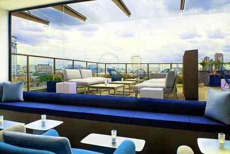H10 London Waterloo - Four Star Rooftop City Views near the South Bank For Two - Save 78%
