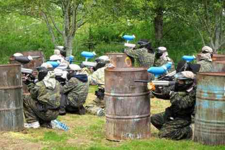 Splash White Water Rafting - Paintball at Aberfeldy - Save 0%