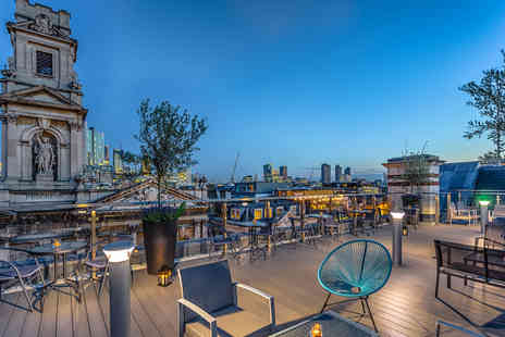 Courthouse Hotel - One Night London Break with Champagne for Two - Save 0%