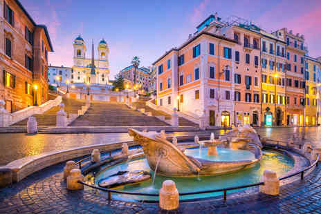 Weekender Breaks - Two or three night Rome stay with airport transfers and return flights - Save 36%