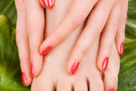 Movida - Jessica Mini Manicure and Pedicure - Save 61%