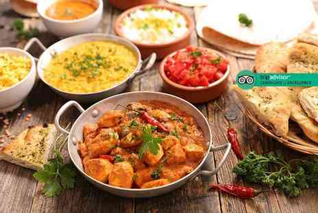 Taste Indian Cuisine - All you can eat Indian buffet for two or four people - Save 50%
