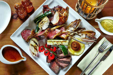 Trader Vics - Three course dinner for two with a cocktail each - Save 57%
