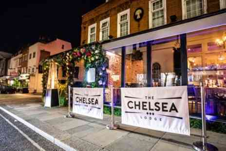 The Chelsea Lodge - Two or Three Course Brunch with Free Flowing Bubbly or Cocktails for Two or Four - Save 51%
