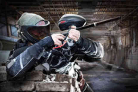 Asylum Paintball - Indoor paintballing session for two - Save 91%