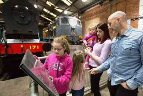 Whitehead Railway Museum - Whitehead Railway Museum Family Ticket for Two Adults and Two Children - Save 38%
