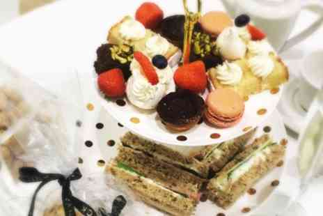 Vanilla Black - Traditional or Sparkling Afternoon Tea for Two - Save 56%