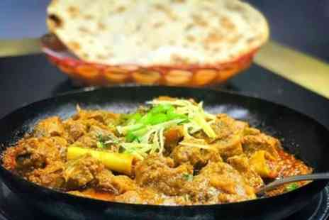 Mughlai - Indian Meal with Optional Seafood for Up to Four - Save 39%