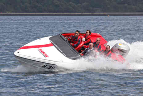 Virgin Experience Days - Ultimate Powerboat Day Aboard the Thunderbolt, Jet Viper and Honda 150 for Two - Save 45%