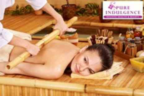 Pure Indulgence - 75 Minute Bamboo Massage - Save 56%