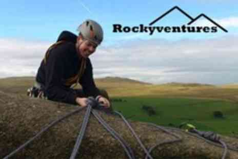 Rockyventures - Four Hour Climbing and Abseiling Session For Two - Save 72%