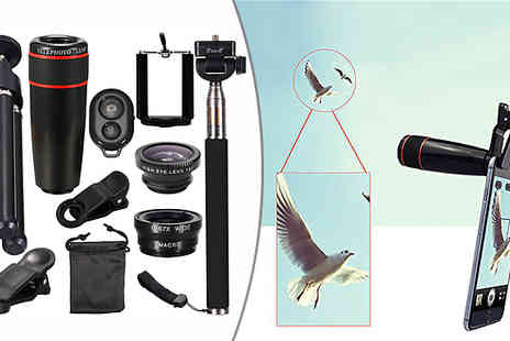 Buy Something - 10 in 1 Smartphone Camera Lens Kit - Save 50%