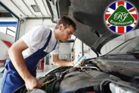RJ Engineering - Full Car Air Conditioning Service With Re Gas - Save 58%