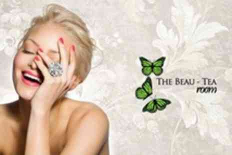The Beau Tea Room - Manicure With Cake Plus Tea or Coffee - Save 52%