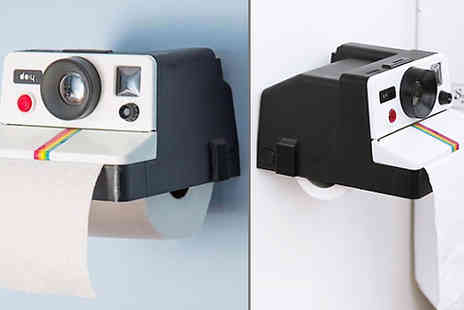 Buy Something - Retro Camera Toilet Roll Holder - Save 38%