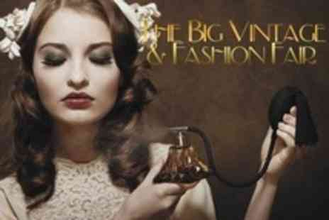 the Bluecoat - Two Tickets to The UK Big Vintage and Fashion Fair - Save 50%
