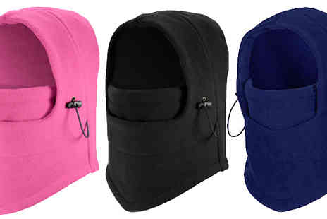 Buy Something - 2 x Adjustable Thermal Snoods Available in 3 Colours - Save 60%