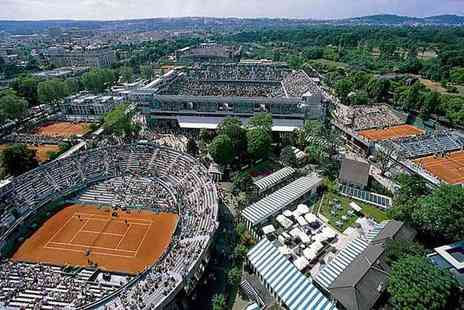 Just Book Sports - Overnight Paris stay with tickets to see the French Open - Save 26%