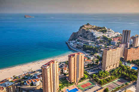 Tour Center - Three, five or seven night all inclusive Benidorm getaway with transfers and return flights - Save 27%