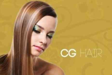 CG Hair - Keratin Blow Dry With Moisturising Treatment Plus Cut - Save 56%
