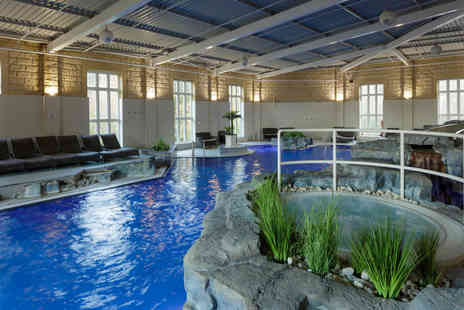 Slaley Hall - Luxury spa day with a choice of two 25 minute treatments and a three course lunch for one or two - Save 55%
