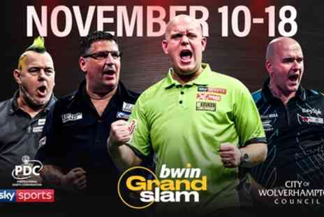 bwin Grand Slam of Darts - One ticket to Bwin Grand Slam of Darts 11 To 18 November - Save 39%