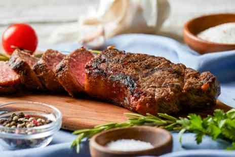 The Rose Inn - Choice of Steak Meal for Two or Four with Optional Wine Bottle to Share Between Pairs - Save 57%