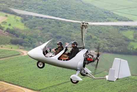 GS Aviation - 30 minute gyrocopter flying experience - Save 43%