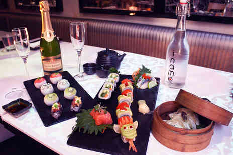 inamo - Sushi and Dim Sum Afternoon Tea with Fizz for Two - Save 51%