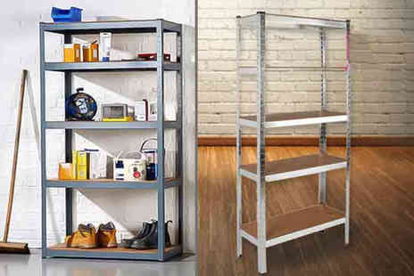 Who Needs Shops - Five tier heavy duty racking unit - Save 80%